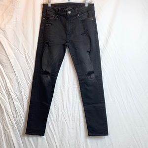 American Eagle Outfitters Jeans - American Eagle Distressed Black Skinny Jeans